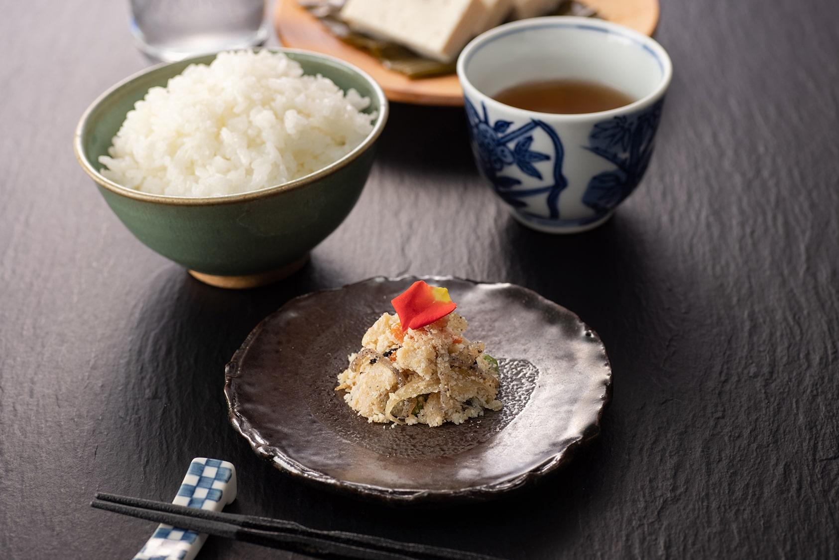 五箇山豆腐のうの花
