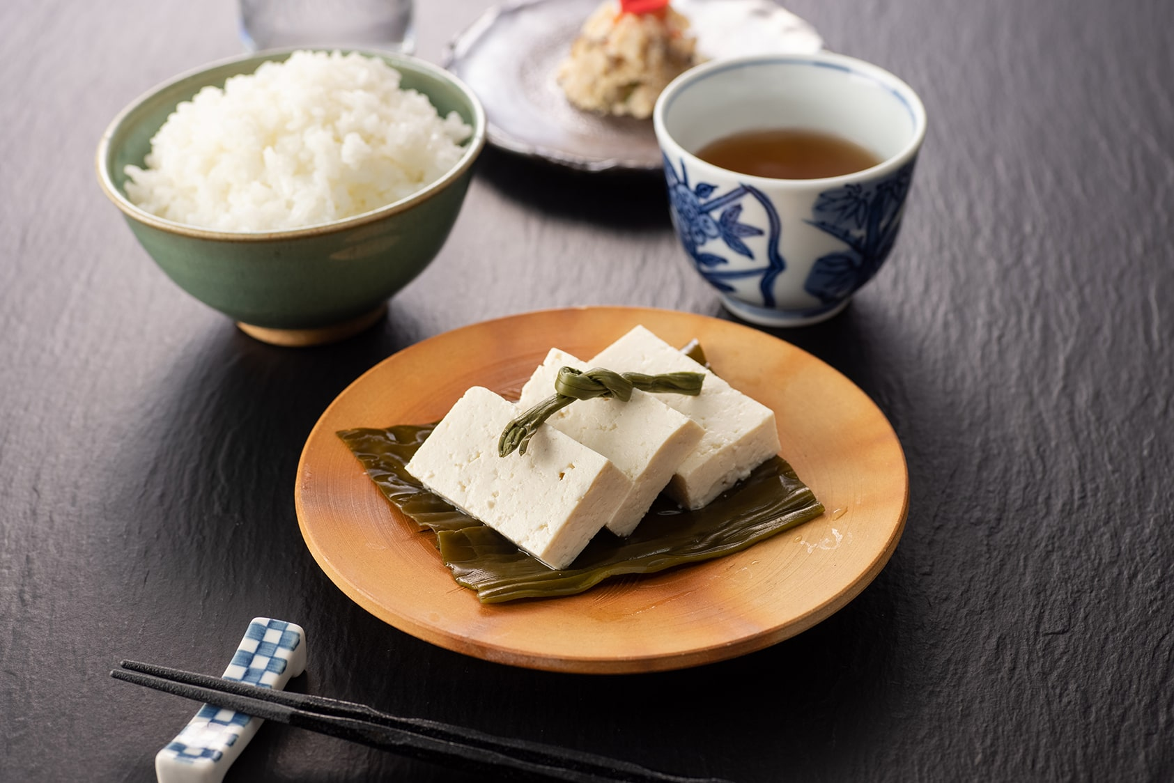 五箇山豆腐の昆布締め