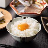 地元のおいしい卵の卵かけご飯
