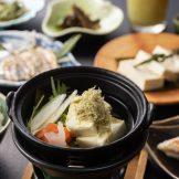 昆布たっぷり湯豆腐